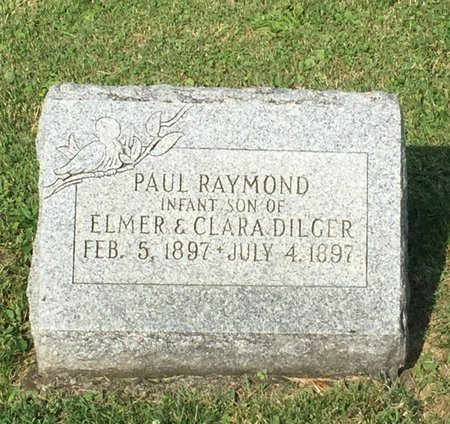 DILGER, PAUL RAYMOND - Fairfield County, Ohio | PAUL RAYMOND DILGER - Ohio Gravestone Photos