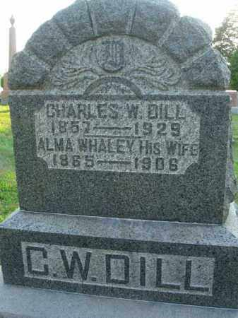 DILL, CHARLES W. - Fairfield County, Ohio | CHARLES W. DILL - Ohio Gravestone Photos