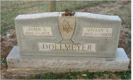 DOLLMEYER, VIVIAN IRENE - Fairfield County, Ohio | VIVIAN IRENE DOLLMEYER - Ohio Gravestone Photos