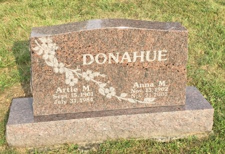 DONAHUE, ARTIE M. - Fairfield County, Ohio | ARTIE M. DONAHUE - Ohio Gravestone Photos