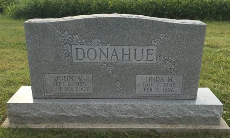 DONAHUE, JOHN W. - Fairfield County, Ohio | JOHN W. DONAHUE - Ohio Gravestone Photos
