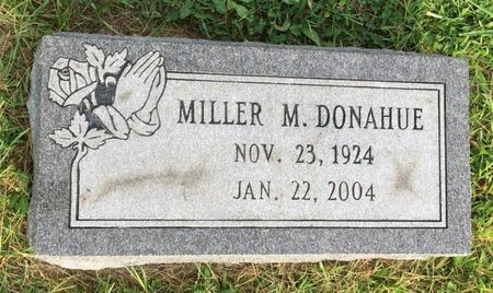 DONAHUE, MILLER M. - Fairfield County, Ohio | MILLER M. DONAHUE - Ohio Gravestone Photos