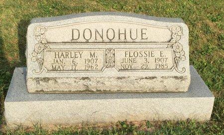 DONOHUE, HARLEY M. - Fairfield County, Ohio | HARLEY M. DONOHUE - Ohio Gravestone Photos