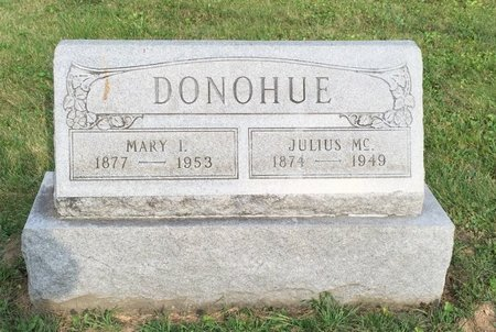 DONOHUE, JULIUS MC. - Fairfield County, Ohio | JULIUS MC. DONOHUE - Ohio Gravestone Photos
