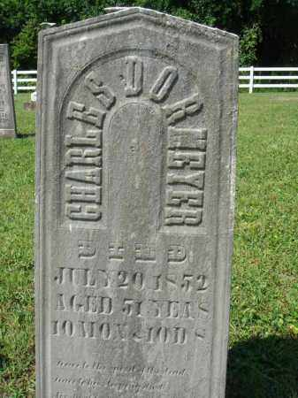 DORMEYER, CHARLES - Fairfield County, Ohio | CHARLES DORMEYER - Ohio Gravestone Photos