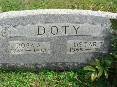 DOTY, ROSA A. - Fairfield County, Ohio | ROSA A. DOTY - Ohio Gravestone Photos