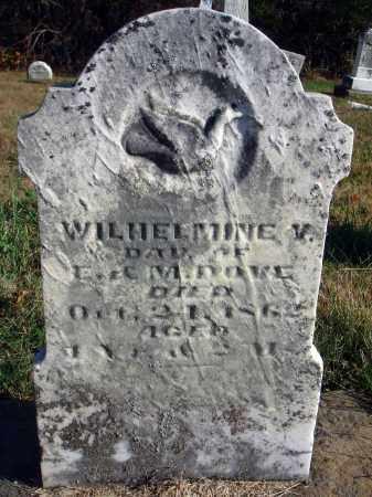 DOVE, WILHELMINE V. - Fairfield County, Ohio | WILHELMINE V. DOVE - Ohio Gravestone Photos