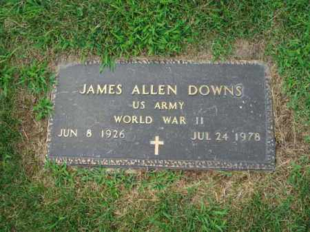 DOWNS, JAMES ALLEN - Fairfield County, Ohio | JAMES ALLEN DOWNS - Ohio Gravestone Photos