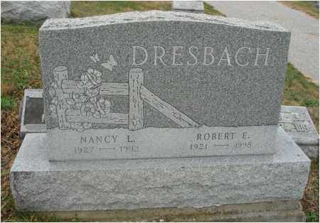 DRESBACH, ROBERT E. - Fairfield County, Ohio | ROBERT E. DRESBACH - Ohio Gravestone Photos