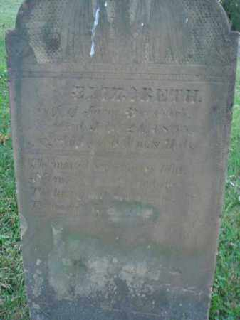 DRESBACK, ELIZABETH - Fairfield County, Ohio | ELIZABETH DRESBACK - Ohio Gravestone Photos