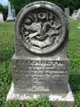 DUNLOP, ELIZABETH - Fairfield County, Ohio | ELIZABETH DUNLOP - Ohio Gravestone Photos