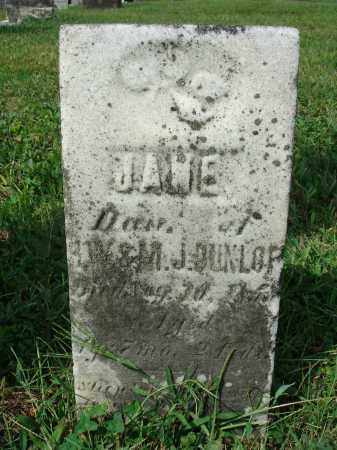 DUNLOP, JANE - Fairfield County, Ohio | JANE DUNLOP - Ohio Gravestone Photos