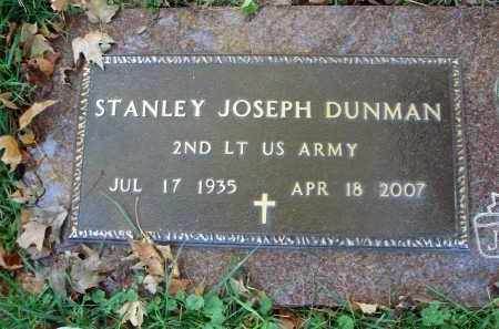 DUNMAN, STANLEY JOSEPH - Fairfield County, Ohio | STANLEY JOSEPH DUNMAN - Ohio Gravestone Photos