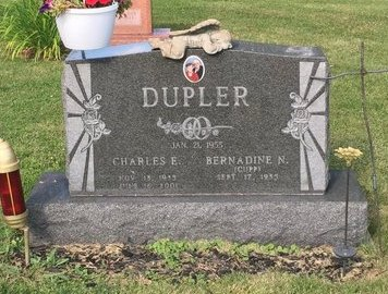 CUPP DUPER, BERNADINE N. - Fairfield County, Ohio | BERNADINE N. CUPP DUPER - Ohio Gravestone Photos