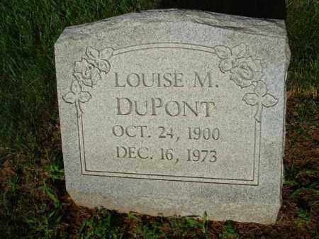 DUPONT, LOUISE M. - Fairfield County, Ohio | LOUISE M. DUPONT - Ohio Gravestone Photos