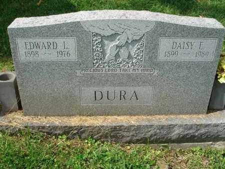 DURA, DAISY E. - Fairfield County, Ohio | DAISY E. DURA - Ohio Gravestone Photos