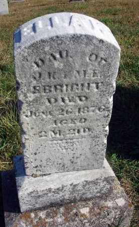 EBRIGHT, ELLA K. - Fairfield County, Ohio | ELLA K. EBRIGHT - Ohio Gravestone Photos