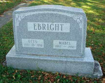 EBRIGHT, OTTO - Fairfield County, Ohio | OTTO EBRIGHT - Ohio Gravestone Photos