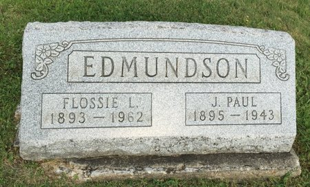 EDMUNDSON, FLOSSIE L. - Fairfield County, Ohio | FLOSSIE L. EDMUNDSON - Ohio Gravestone Photos