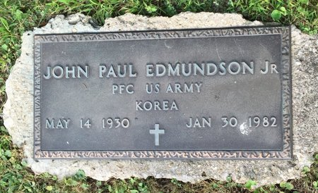 EDMUNDSON, JOHN PAUL  JR - Fairfield County, Ohio | JOHN PAUL  JR EDMUNDSON - Ohio Gravestone Photos
