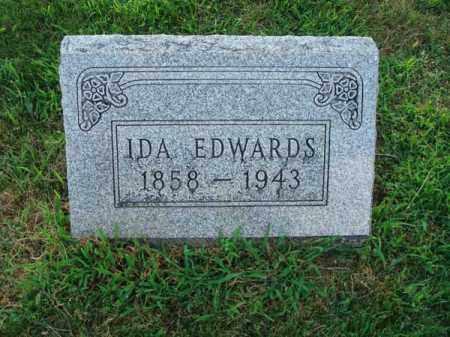 EDWARDS, IDA - Fairfield County, Ohio | IDA EDWARDS - Ohio Gravestone Photos