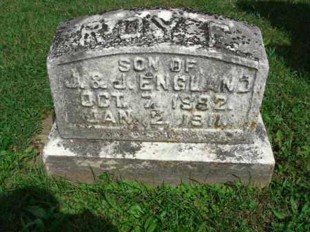 ENGLAND, ROY F. - Fairfield County, Ohio | ROY F. ENGLAND - Ohio Gravestone Photos