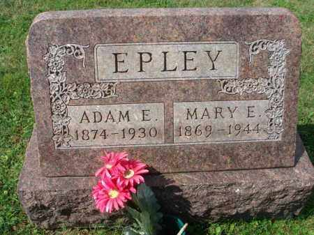EPLEY, ADAM E. - Fairfield County, Ohio | ADAM E. EPLEY - Ohio Gravestone Photos