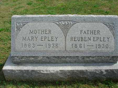 EPLEY, REUBEN - Fairfield County, Ohio | REUBEN EPLEY - Ohio Gravestone Photos