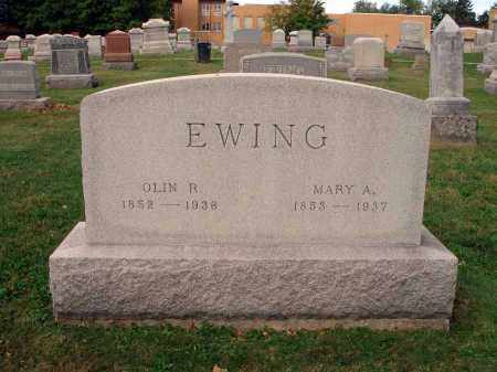 EWING, MARY A. - Fairfield County, Ohio | MARY A. EWING - Ohio Gravestone Photos