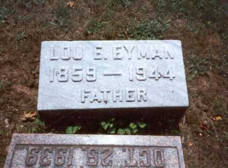 EYMAN, LOU E. - Fairfield County, Ohio | LOU E. EYMAN - Ohio Gravestone Photos