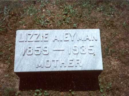 LONG EYMAN, LIZZIE A. - Fairfield County, Ohio | LIZZIE A. LONG EYMAN - Ohio Gravestone Photos