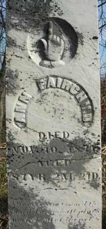 FAIRCHILD, ANN - Fairfield County, Ohio | ANN FAIRCHILD - Ohio Gravestone Photos