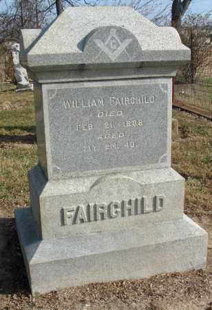 FAIRCHILD, WILLIAM - Fairfield County, Ohio | WILLIAM FAIRCHILD - Ohio Gravestone Photos