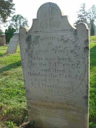 FALER, ISAAC - Fairfield County, Ohio   ISAAC FALER - Ohio Gravestone Photos