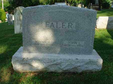 FALER, JOHN L. - Fairfield County, Ohio | JOHN L. FALER - Ohio Gravestone Photos