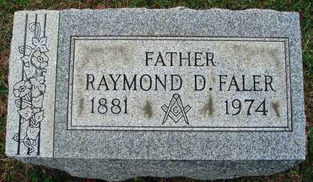 FALER, RAYMOND D. - Fairfield County, Ohio | RAYMOND D. FALER - Ohio Gravestone Photos