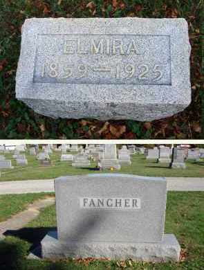 FANCHER, ELMIRA - Fairfield County, Ohio | ELMIRA FANCHER - Ohio Gravestone Photos