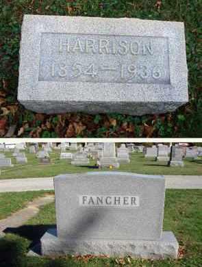 FANCHER, HARRISON - Fairfield County, Ohio | HARRISON FANCHER - Ohio Gravestone Photos
