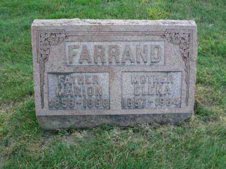 FARRAND, MARION - Fairfield County, Ohio | MARION FARRAND - Ohio Gravestone Photos