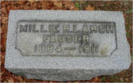 LARSH FAUSER, MILLIE R. - Fairfield County, Ohio | MILLIE R. LARSH FAUSER - Ohio Gravestone Photos