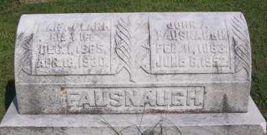 FAUSNAUGH, JOHN A - Fairfield County, Ohio | JOHN A FAUSNAUGH - Ohio Gravestone Photos