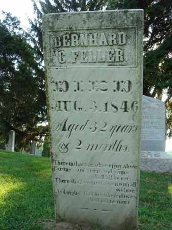 FELLER, BERNHARD C. - Fairfield County, Ohio | BERNHARD C. FELLER - Ohio Gravestone Photos
