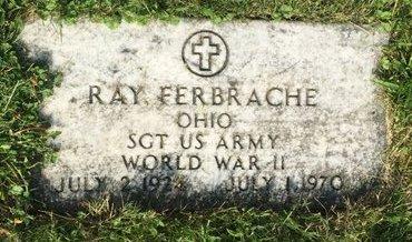 FERBRACHE, RAY - Fairfield County, Ohio   RAY FERBRACHE - Ohio Gravestone Photos