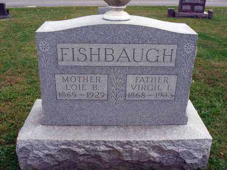 FISHBAUGH, LOIE B. - Fairfield County, Ohio | LOIE B. FISHBAUGH - Ohio Gravestone Photos