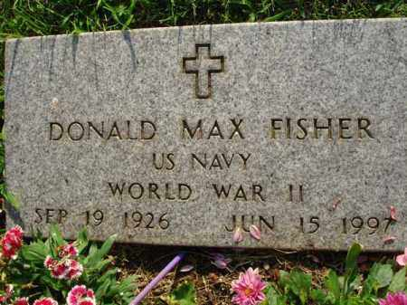 FISHER, DONALD MAX - Fairfield County, Ohio | DONALD MAX FISHER - Ohio Gravestone Photos