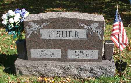 FISHER, RICHARD O. - Fairfield County, Ohio | RICHARD O. FISHER - Ohio Gravestone Photos