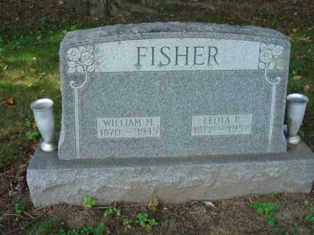 FISHER, WILLIAM M. - Fairfield County, Ohio | WILLIAM M. FISHER - Ohio Gravestone Photos