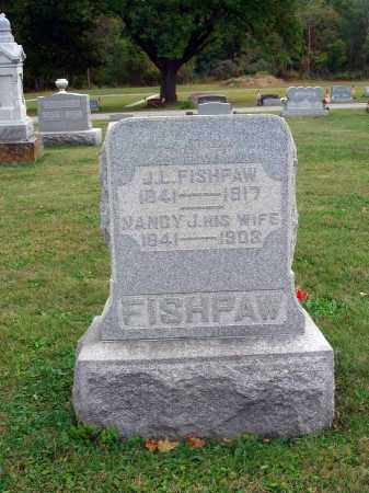 FISHPAW, J. L. - Fairfield County, Ohio | J. L. FISHPAW - Ohio Gravestone Photos