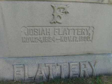 FLATTERY, JOSIAH - Fairfield County, Ohio | JOSIAH FLATTERY - Ohio Gravestone Photos
