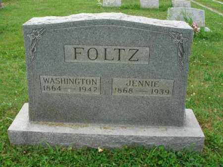 FOLTZ, WASHINGTON - Fairfield County, Ohio | WASHINGTON FOLTZ - Ohio Gravestone Photos